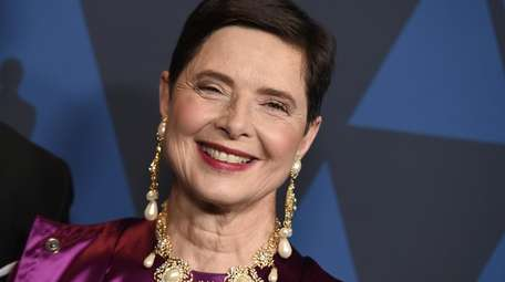 Isabella Rossellini's appearance on the Facebook Live series