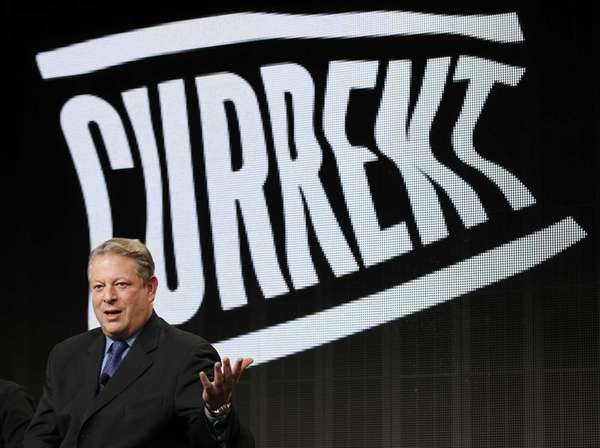 Al Gore, Current TV Chairman and Co-Founder, participates
