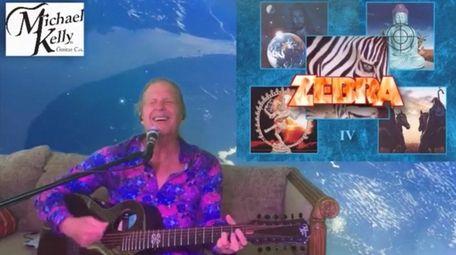 Randy Jackson of Zebra, 65, performs daily on