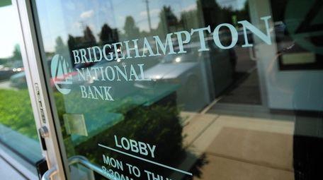 Bridgehampton-based Bridge Bancorp is among those companies reporting