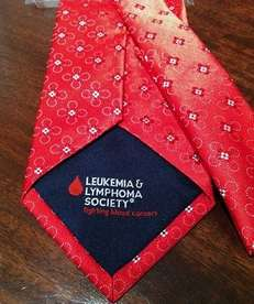 One of four styles of ties being sold