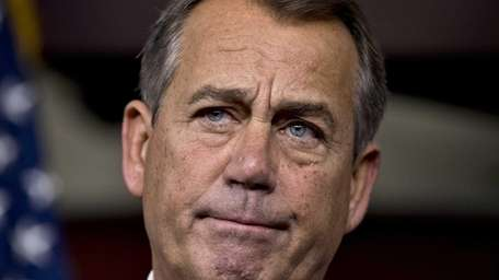 Speaker of the House John Boehner, R-Ohio, speaks