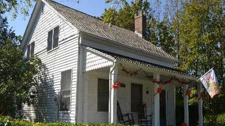 This historic Jamesport house, which dates back to