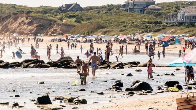 Ditch Plains in Montauk is one beach people