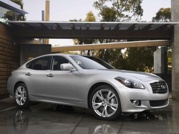 Under the new system, the 2013 Infiniti M