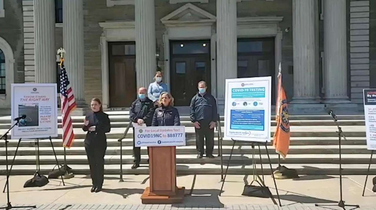 Nassau County Executive Laura Curran on Wednesday said,