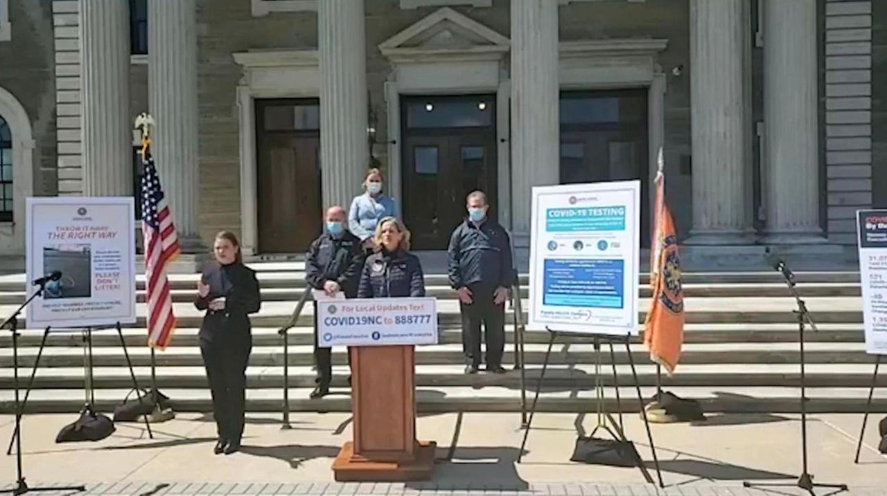Nassau County Executive Laura Curran on Wednesday said,