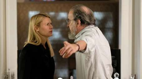 (L-R): Claire Danes as Carrie Mathison and Mandy