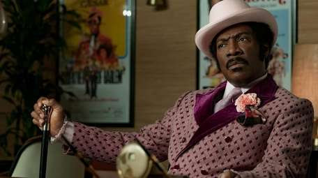 Eddie Murphy as Rudy Ray Moore in Netflix's