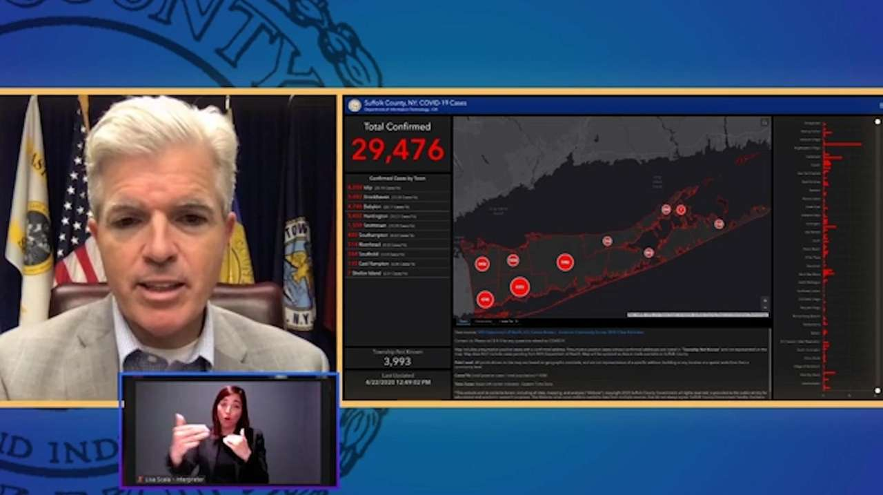 Suffolk County Executive Steve Bellone said that there