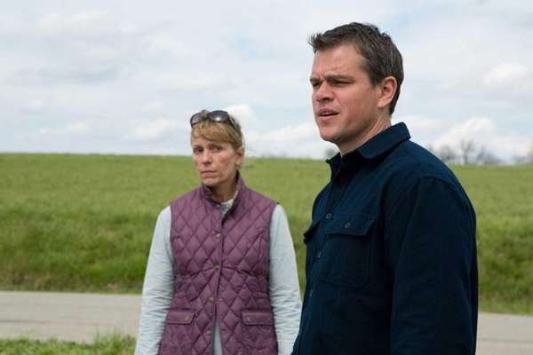 Frances McDormand and Matt Damon star in Gus