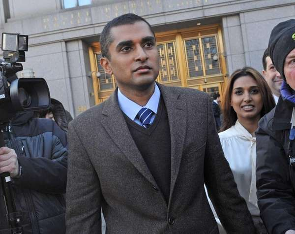 Mathew Martoma enters a Manhattan court Thursday. The