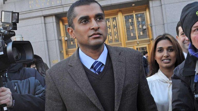 Mathew Martoma enters a Manhattan court Thursday. The