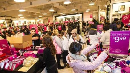Victoria's Secret offered big sales. Tanger Outlets in