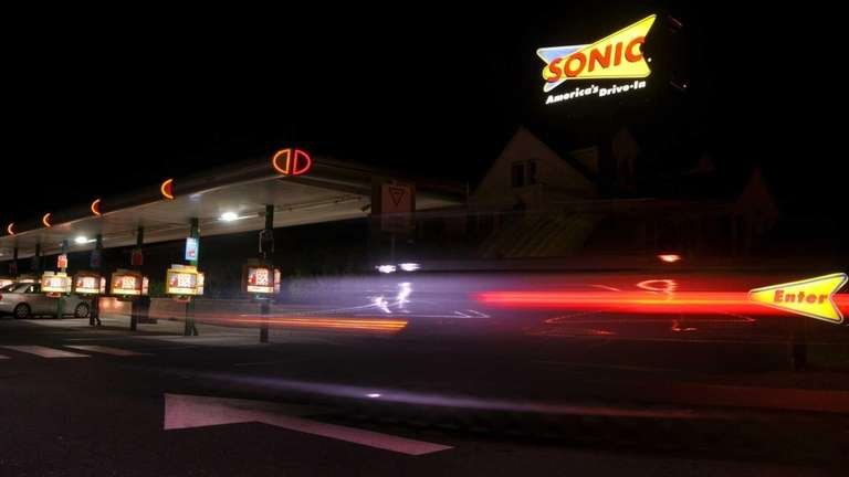 The exterior of the Sonic in North Babylon.