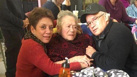 Julie Toves, 88, with her daughter Debra Garofolo