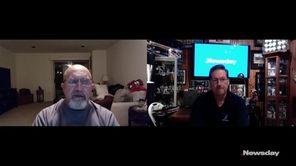 Ward Melville baseball coach Lou Petrucci discusses the