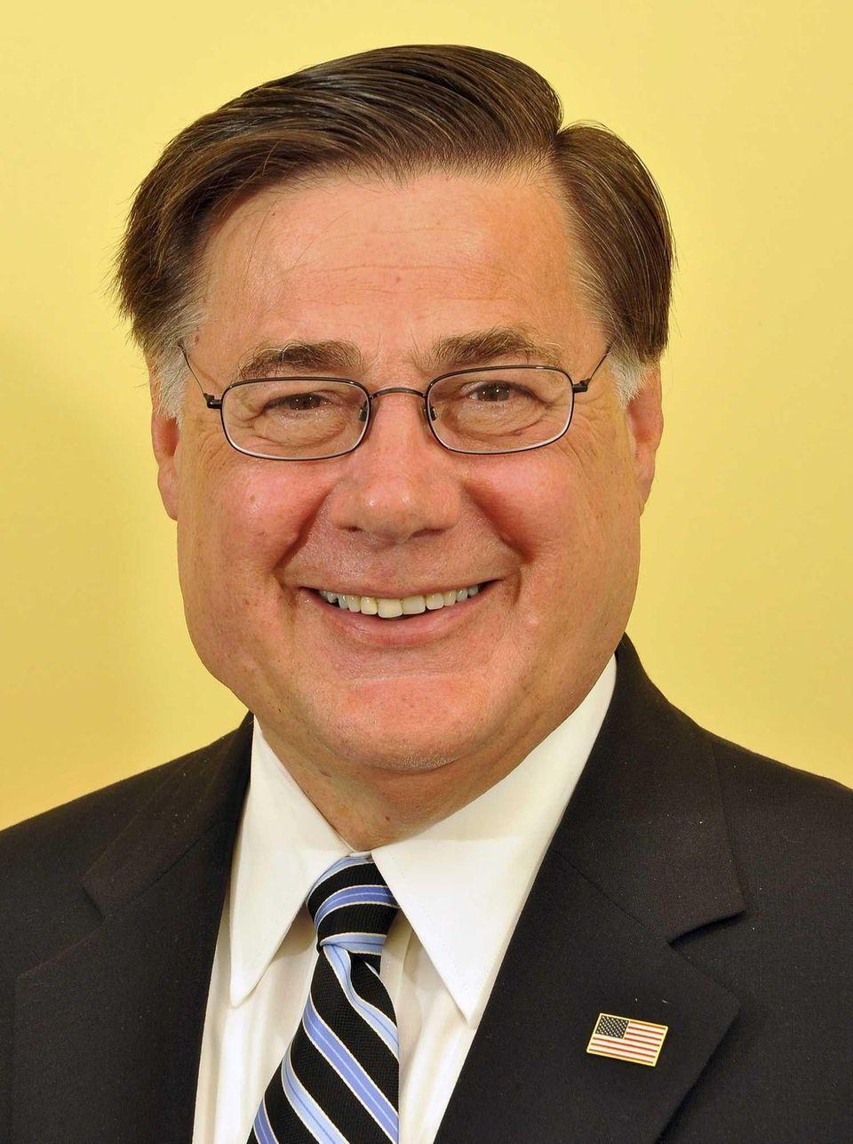 Brookhaven Town Supervisor Edward P. Romaine