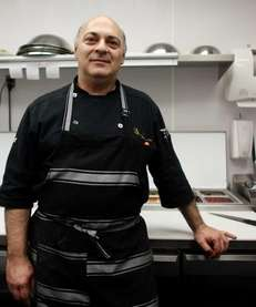 Massimo Fedozzi is the executive chef at Vero