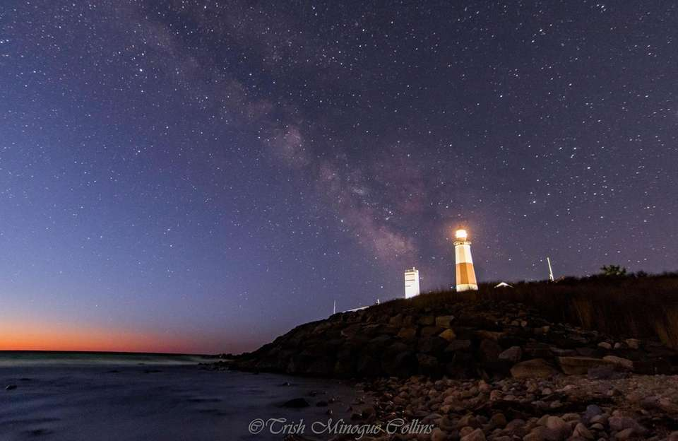 WHERE Montauk Lighthouse BY Trish Minogue Collins of