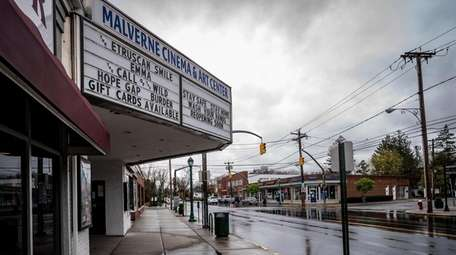 The Malverne Cinema, which screens independent, foreign and
