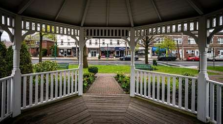 The gazebo in the Chester A. Reese Veterans