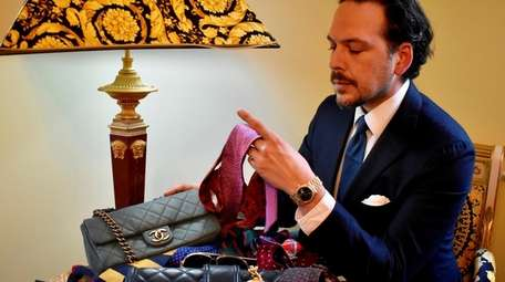 Matthew Ruiz, who owns consignment business LuxeSwap in