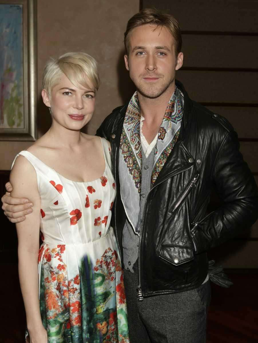 Michelle Williams and Ryan Gosling attend a special