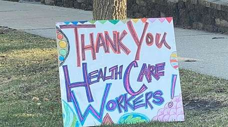 Thank Long Island health care workers.
