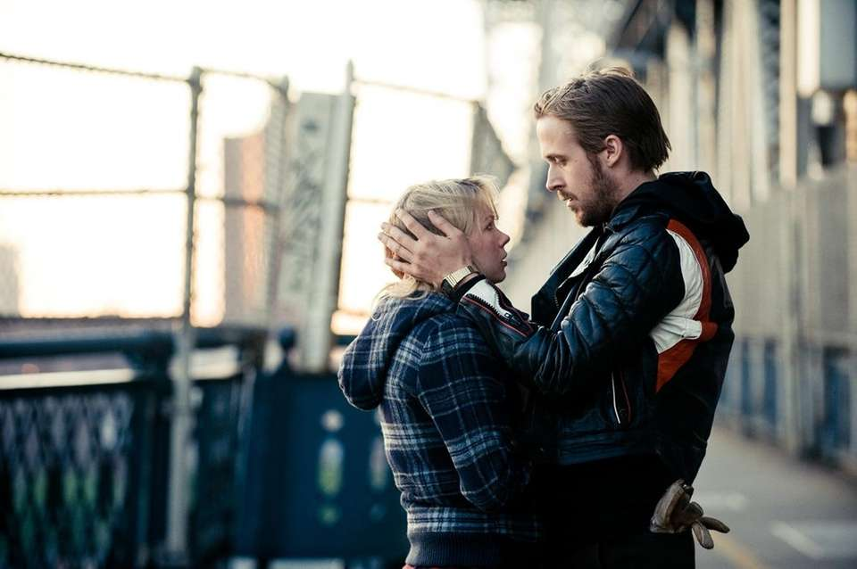 Michelle Williams and Ryan Gosling in the 2010