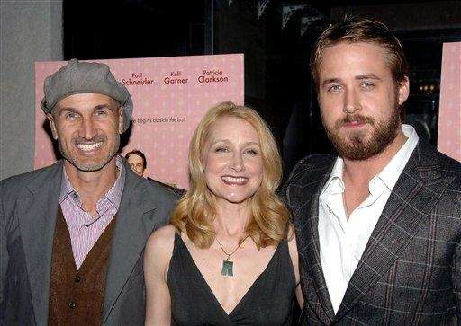 Ryan Gosling with Patricia Clarkson and director Craig