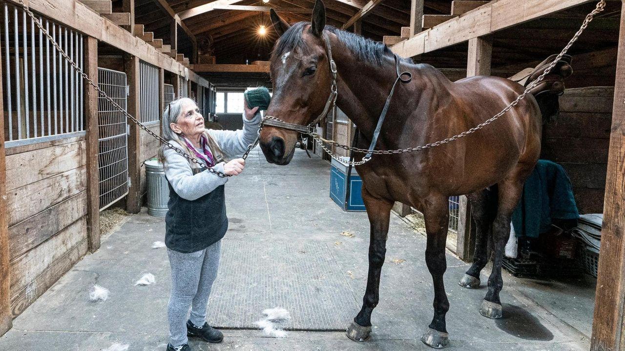 Deborah Flynn, owner of Grouse Ridge Farm in