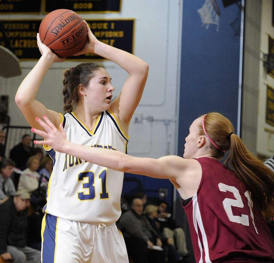 Northport's Dorrien Van Dyke looks to pass as