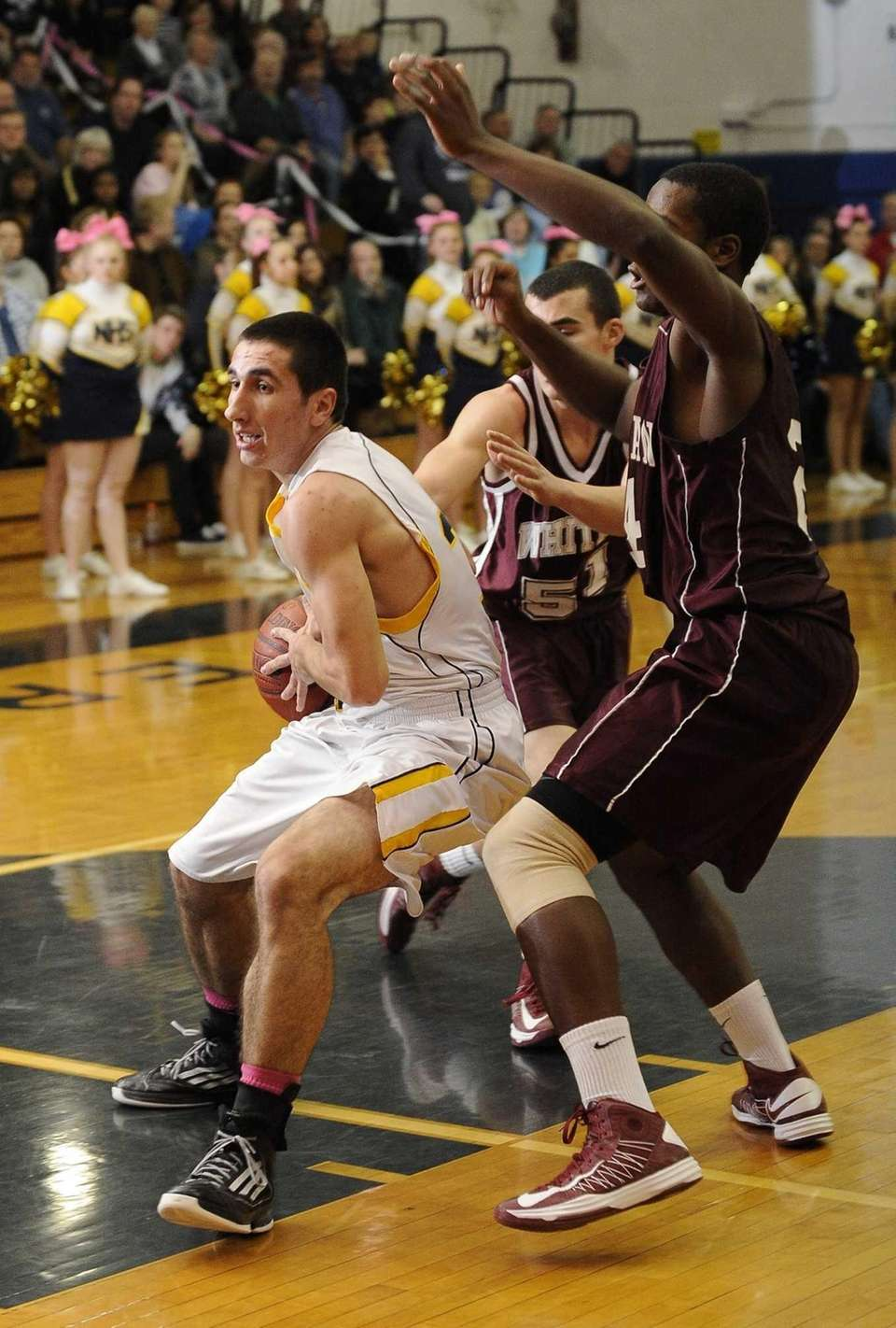 Northport's Matt Smith drives to the basket past