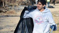 Hamza Khan, 17, a junior at Mount Sinai