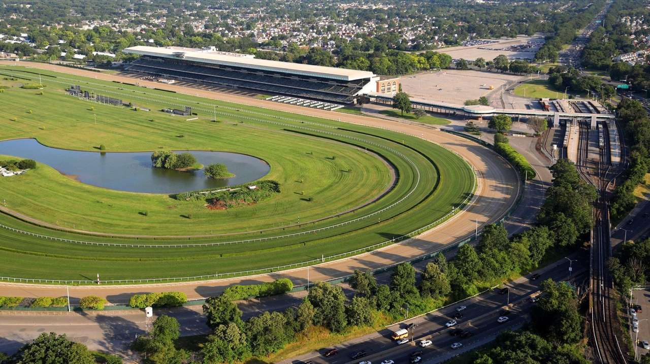 Racing returns to Belmont without fans on Wednesday