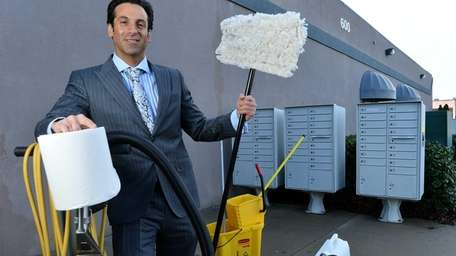 Brian DeLuca, owner of DeLuca Cleaning Systems Corp.,