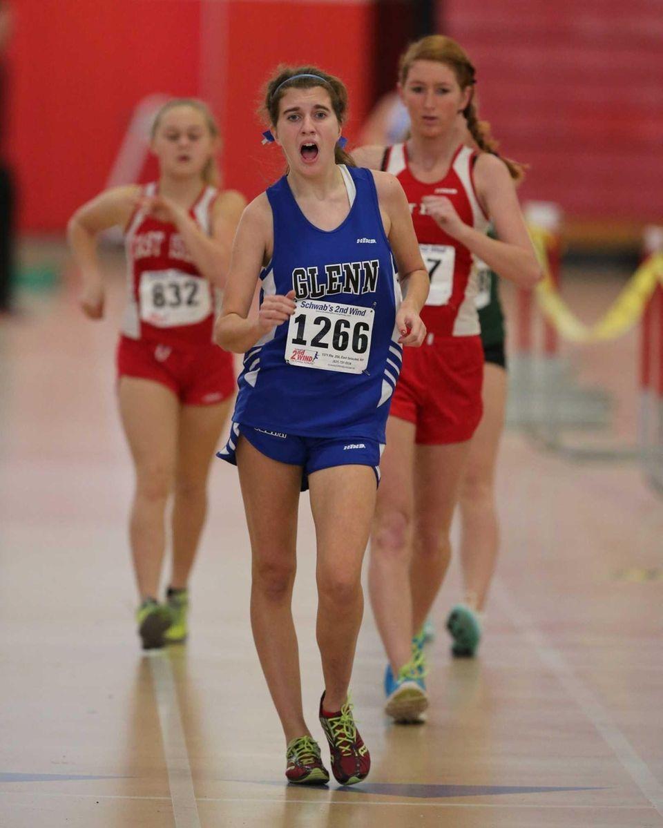 Alexa Kluepfel of Glenn wins the 1500-meter walk.