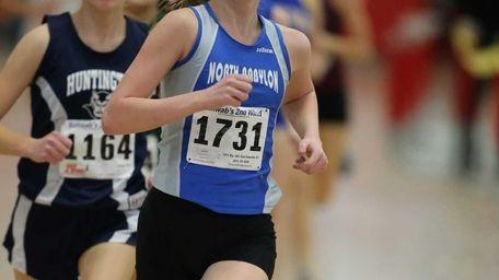 Jessica Scheriff of North Babylon pulls ahead of