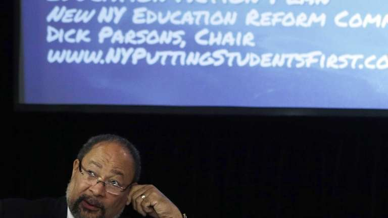 Richard Parsons, chairman of the New York Education