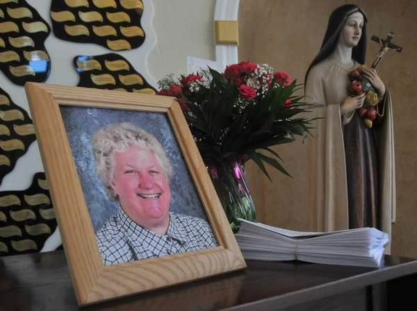 Sister Jacqueline Walsh is remembered at St. Edward