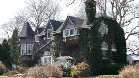 Thomas Moran built his East Hampton house in