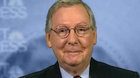 Senate Republican Leader Mitch McConnell did not back