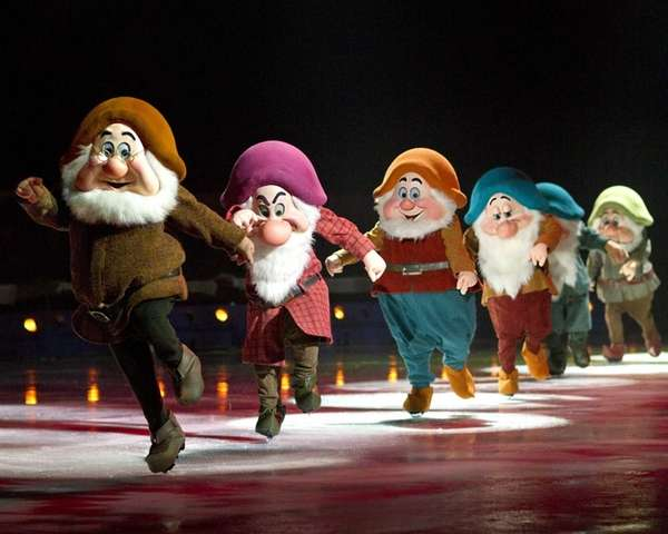 "Disney on Ice presents ""Treasure Trove"" at Nassau"