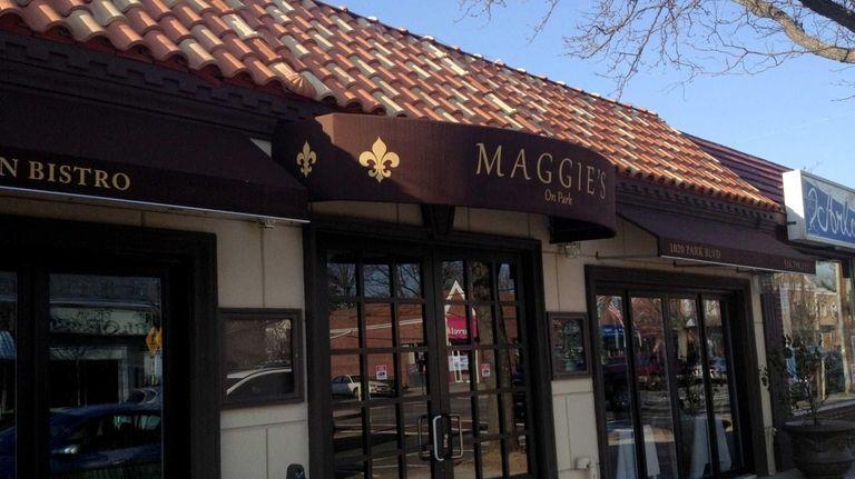 Exterior of Maggie's in Massapequa Park. (Jan. 4,
