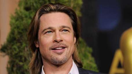 Brad Pitt, a best actor nominee for