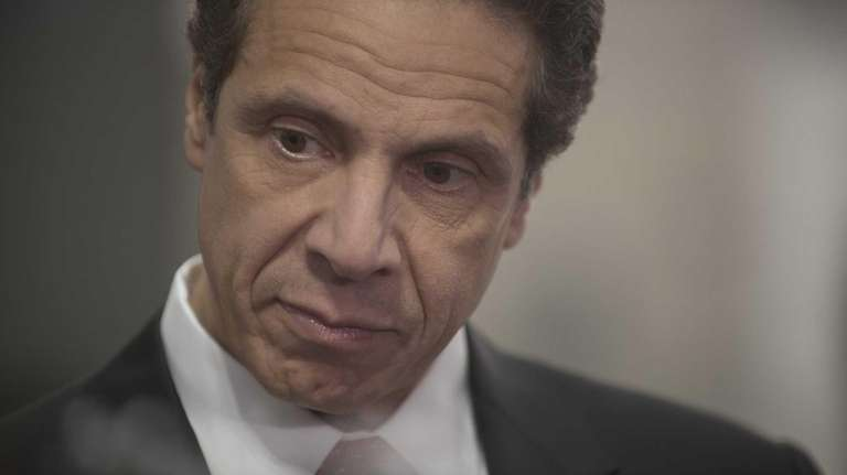 File photo of New York Governor Andrew Cuomo.