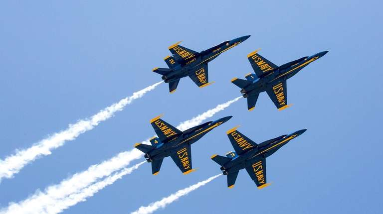 Blue Angels, Thunderbirds plan flyovers to salute essential ...