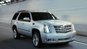 2013 Cadillac Escalade models were among more than