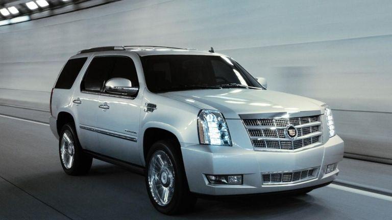 2013 Cadillac Escalade models were among more than